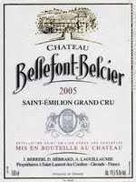 Chateau Bellefont-Belcier, Saint-Emilion Grand Cru Classé, Bordeaux, France