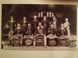 The spirit of winemakers past!
